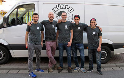 Rümpel Alf- unser Team