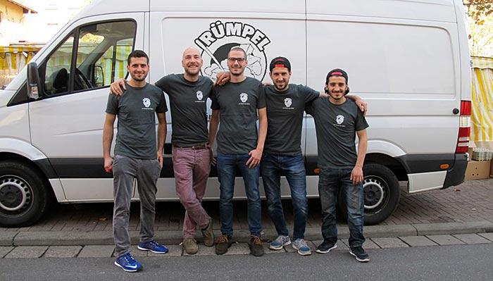Das Team von Rümpel Alf